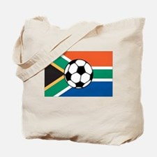 South Africa Soccer Tote Bag