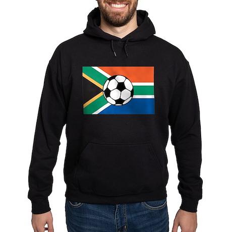 South Africa Soccer Hoodie (dark)
