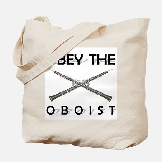 Obey the Oboist Tote Bag