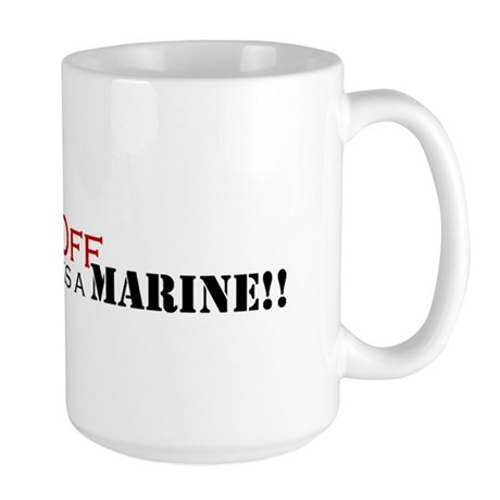 Back Off!-My Uncle is a Marin Large Mug