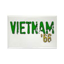 VIETNAM '68 Rectangle Magnet