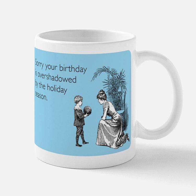 Birthday Overshadowed Small Small Mug