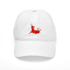 Fantasy antelope medieval art Baseball Cap