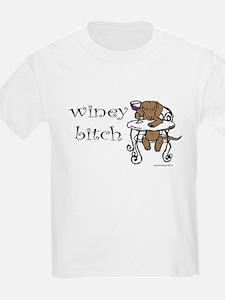 Winey Dachshund T-Shirt