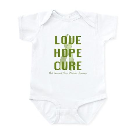PTSD Awareness (lhc) Infant Bodysuit