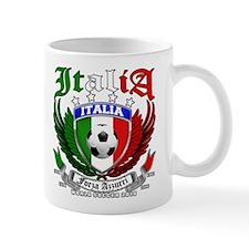 Italia Soccer Forza Azzurri Mug