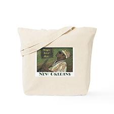 New Orleans Guitar Man Tote Bag
