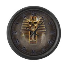 Accursed Pharaoh Large Wall Clock