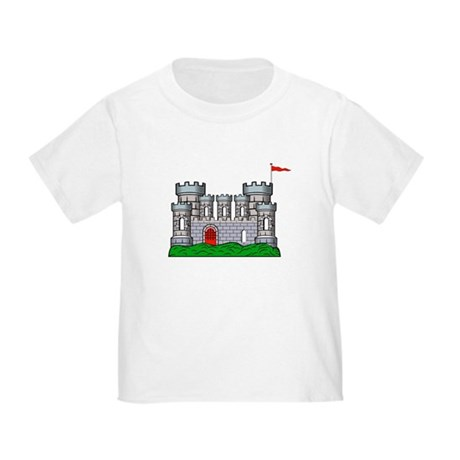 Fantasy medieval castle Toddler T-Shirt