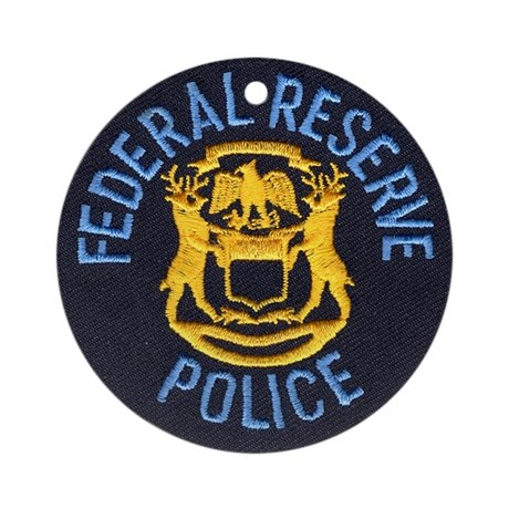 Federal Reserve Police Ornament (Round) by lawrenceshoppe