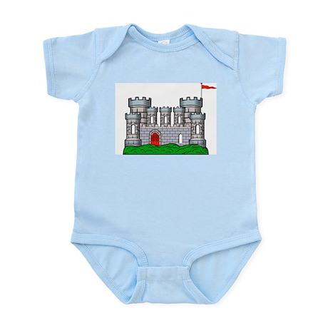 Fantasy medieval castle Infant Creeper
