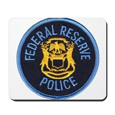 Federal Reserve Police Mousepad