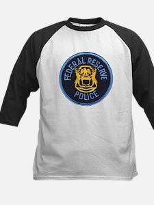 Federal Reserve Police Kids Baseball Jersey