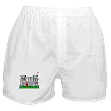 Fantasy medieval castle Boxer Shorts