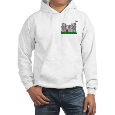 Fantasy medieval castle Hooded Sweatshirt
