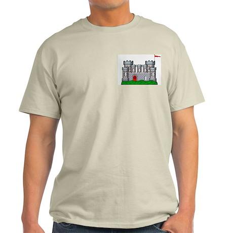 Fantasy medieval castle Ash Grey T-Shirt