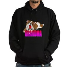 Bulldog Grandma Hoodie