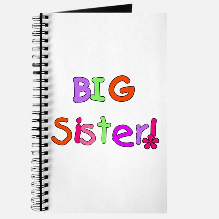 Bright Colors Big Sister Journal
