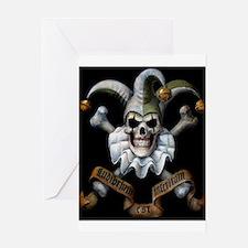 Bonie's Joker Makeup Greeting Card