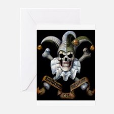 Bonie's Joker Makeup Greeting Cards (Pk of 10)