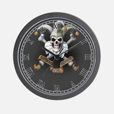 Bonie's Joker Makeup Wall Clock