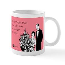 Blow Jobs Flowers Small Mug
