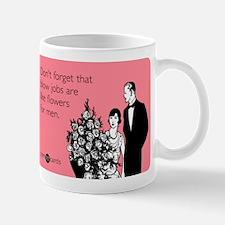 Blow Jobs Flowers Small Small Mug