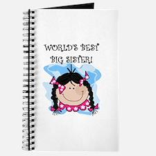 (Black) Best Big Sister Journal