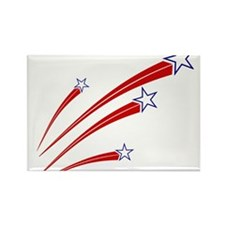 Stars and Stripes Rectangle Magnet