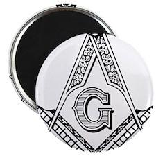 "Cute Masonic 2.25"" Magnet (10 pack)"