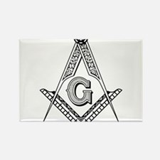 Cute Masonic Rectangle Magnet