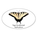 Tiger Swallowtail Sticker (Oval 10 pk)