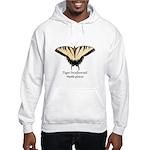 Tiger Swallowtail Hooded Sweatshirt