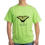 Tiger Swallowtail Green T-Shirt
