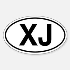 XJ Jeep Cherokee Stickers