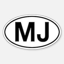 MJ Jeep Comanche Decal