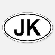 JK Jeep Wrangler Decal