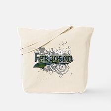 Ferguson Tartan Grunge Tote Bag