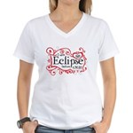 I Saw Eclipse before 6.30.10 Women's V-Neck T-Shir