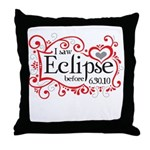 I Saw Eclipse before 6.30.10 Throw Pillow