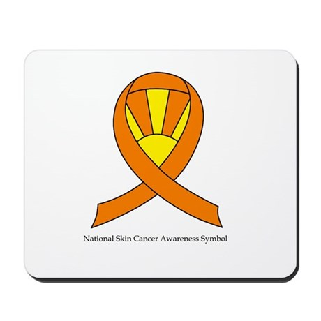 National Skin Cancer Awarenes Mousepad