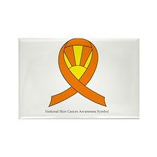 National Skin Cancer Awarenes Rectangle Magnet