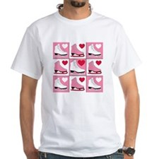 Valentine's Day Ice Skate Shirt