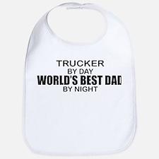 World's Best Dad - Trucker Bib