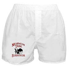 Mormon Trek Survivor Boxer Shorts