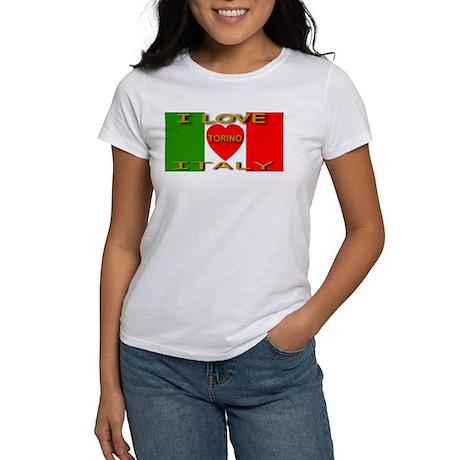 I Love Torino Italy Women's T-Shirt
