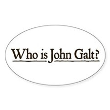 Who is John Galt? Decal