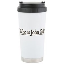 Who is John Galt? Travel Mug