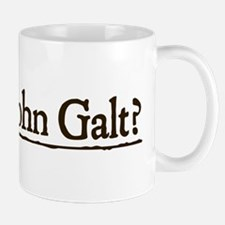 Who is John Galt? Small Small Mug