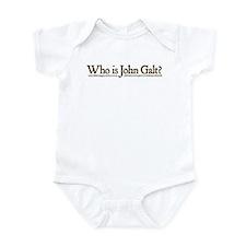 Who is John Galt? Onesie